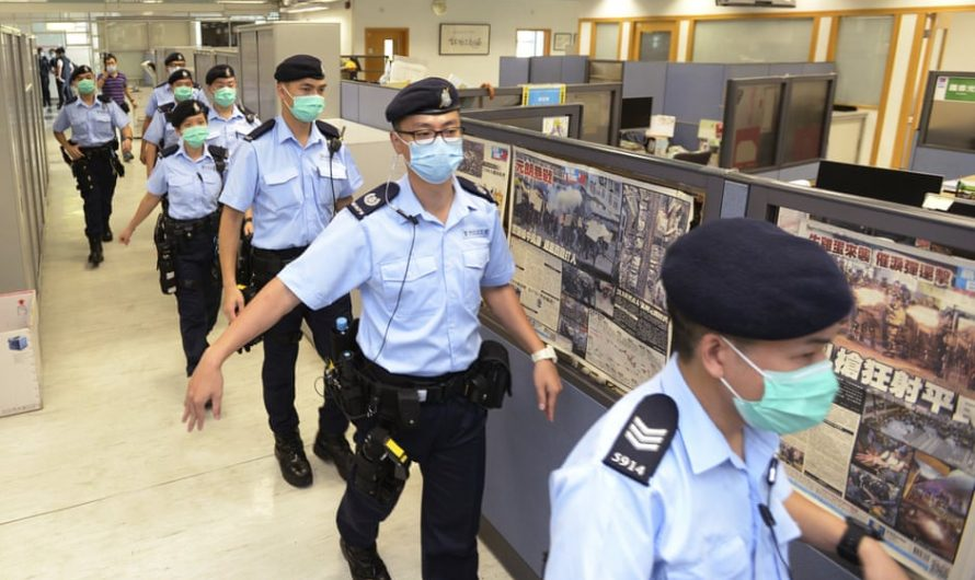 Timeline of events leading to the closure of Hong Kong's Apple Daily