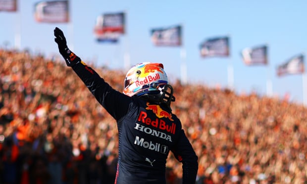 Max Verstappen storms to F1 Dutch GP pole with Lewis Hamilton second