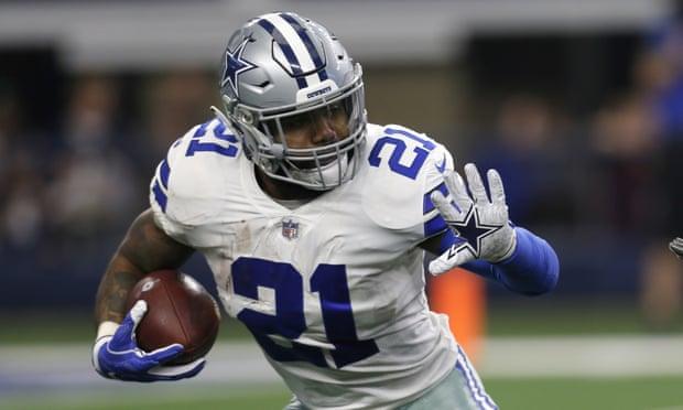Cowboys' Ezekiel Elliott signs $90m extension to become NFL's richest back