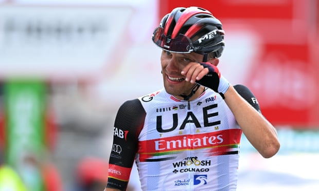 Rafal Majka claims emotional Vuelta stage win after solo breakaway